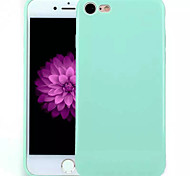 TPU Material Candy Solid Color Soft Shell Phone Protection for iPhone 7 Plus/7/6s Plus / 6 Plus/6S/6/SE / 5s / 5