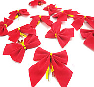12pcs/lot Christmas  Bowknot Christmas Gift Christmas Tree Decoration