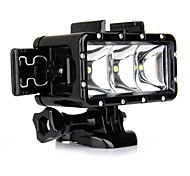 Spot Light LED Waterproof Housing Case Built-in Flash For Action Camera Gopro 5 Gopro 3 Gopro 2 Gopro 3+ Gopro 1 Sports DV SJCAM SJ7000