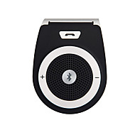 cheap -Car Wireless Bluetooth Handsfree Car Kit Speakerphone Sun visor Clip 10m Distance For iPhone with Car Charger