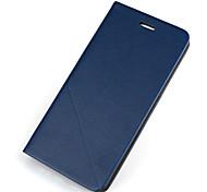 Недорогие -Для Кейс для iPhone 7 / Кейс для iPhone 7 Plus / Кейс для iPhone 6 Бумажник для карт / со стендом / Флип Кейс для Чехол Кейс для Один цвет