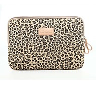"cheap -10"" 11"" 12"" 13"" 14"" Classic Leopard Laptop Sleeve Notebook Bag Liner Bag Shockproof for Macbook/HP/Dell/ Etc"