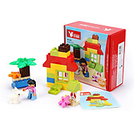 cheap -Building Blocks For Gift  Building Blocks Square / Car Plastic Above 3 Rainbow Toys