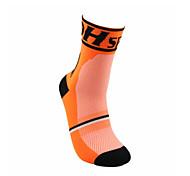 Sports Bike/Cycling Socks Unisex Sleeveless Breathable / Sweat-wicking Cotton Floral / Botanical Orange