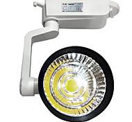20w 2000LM 3000K / 4000K / 6000K COB светодиодные дорожки света высокой мощности Tracklight прожектор для магазина (ac110-265v)