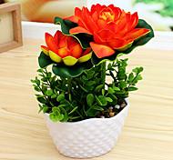 Недорогие -Искусственные Цветы 1 Филиал Простой стиль лотос Букеты на стол