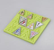 силиконовые флаконы для пищевых продуктов номер форма для помадной формы для тортов для декоративных инструментов цвет ramdon