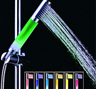 SDS-A13 Colorful LED Shower Shower Rod / Handheld Shower (ABS Electroplating)
