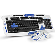 cheap -Keyboard Mouse Combo Wired Keyboard GamingCrack Gaming Mouse 6 Buttons Multimedia Game Gamer Kit Upgrade Version