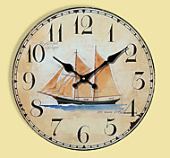 1PC European Rural Idyll Retro Bracket Clock  Contracted Sitting Room Adornment Clock Nautical Clocks