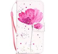 Недорогие -Назначение iPhone X iPhone 8 iPhone 7 iPhone 7 Plus iPhone 6 Чехлы панели Бумажник для карт С узором Чехол Кейс для Цветы Твердый