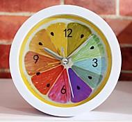 новый стиль сельских прохладно лимон фрукты будильник современный минималистский настольные часы ленивым часы часы