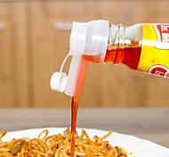 cheap -2Pcs Lot Olive Oil Bottle Stopper Wine Pourer Stopper Oil Pot Controllable Amount Gadget Kitchen Dining