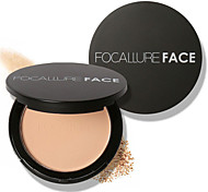 FOCALLURE 3 Colors Make Up Face Powder Cosmetic Beauty Care Makeup for Face