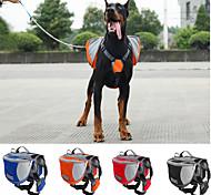 Собака Переезд и перевозные рюкзаки Собака обновления Животные Корпусы Водонепроницаемость Компактность Оранжевый Красный Синий Черный