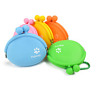 cheap -L Cat Dog Bowls & Water Bottles Pet Bowls & Feeding Portable Orange Yellow Green Blue Pink