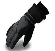 Недорогие -Лыжные перчатки Муж. Сохраняет тепло PU Катание на лыжах Мотоцикл Зима