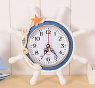 abordables -Reloj Relojes con Alarma Clásico Casual Tradicional Oficina / Negocios Retro Moderno / Contemporáneo Madera El plastico Redondo