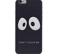 Panda Eyes Pattern TPU High Purity  Soft Phone Case for iPhone 7 7Plus 6S 6Plus SE 5S 5