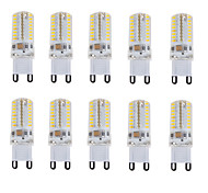 cheap -10pcs 150-180 lm E14 G9 LED Bi-pin Lights T 64 leds SMD 3014 Waterproof Decorative Warm White Cold White Natural White AC 220-240V