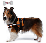 Dog Harness Reflective Breathable Solid Mesh Padded Fabric Nylon Mesh