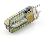 abordables -2W 245lm G6.35 Luces LED de Doble Pin Tubo 48 Cuentas LED SMD 3014 Decorativa Blanco Cálido Blanco Fresco 12V 220-240V