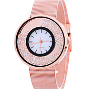 cheap -Women's Quartz Wrist Watch Cool / Casual Watch Alloy Band Casual / Fashion Silver / Gold / Rose Gold