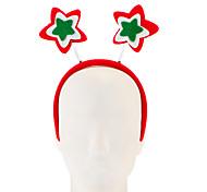 Недорогие -1pc нетканые пятиконечные звезды обруч украшения рождественские украшения