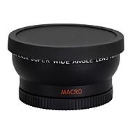 58мм 0.45x широкоугольный объектив макро-объектив для пушки 350D / 400D / 450D / 500D / 1000D / 550D / 600D / 1100D зеркальную камеру