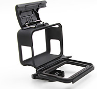 Недорогие -Гладкая Рамка защитный футляр Регулируется Многофункциональный Для Экшн камера Gopro 6 Gopro 5 Дайвинг Серфинг Скайдайвинг Мотоцикл ABS