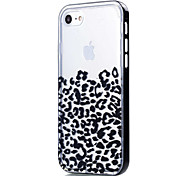 For iPhone 8 iPhone 8 Plus iPhone 7 iPhone 6 iPhone 5 Case Case Cover Transparent Pattern Back Cover Case Leopard Print Soft TPU for Apple