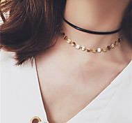 Necklace Non Stone Choker Necklaces Pendant Necklaces Layered Necklaces Tattoo Choker Jewelry Wedding Party Daily CasualBasic Design