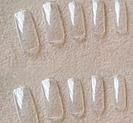 PINPAI Manicure Wholesale Korea 500 Pieces of Transparent Full Transparent Paste a Piece False Nail
