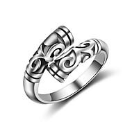 Недорогие -Муж. Женский Классические кольца Кольцо на кончик пальца Бижутерия Мода Регулируется обожаемый Хип-хоп Multi-Wear способы Сексуальные