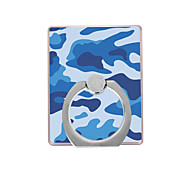 cheap -Phone Holder Stand Mount Desk / Outdoor Ring Holder / 360° Rotation Plastic Camouflage Pattern for Mobile Phone