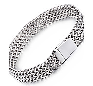 cheap -Men's Chain Bracelet Fashion Stainless Steel Geometric Jewelry Christmas Gifts Party Anniversary Birthday Congratulations Graduation Gift