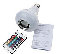 E26/E27 Bombillas LED de Globo A90 1 SMD 5060 900 lm Blanco Fresco RGB Decorativa Bluetooth Regulable Control Remoto V 1 pieza