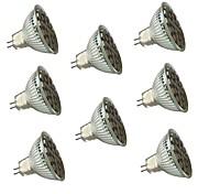 GU5.3(MR16) Точечное LED освещение MR16 27 SMD 5050 450 lm Тёплый белый Холодный белый 3000/6000 К Диммируемая Декоративная V