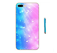 Colorful starry sky Pattern Soft TPU Bumper Case for Apple iPhone 7 Plus 7 6s 6 Plus SE 5s 5 and Stylus