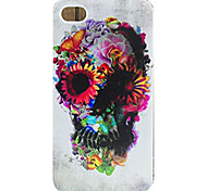For Pattern Case Back Cover Case Flower Face Skull Soft TPU for iPhone 7 7 Plus 6s 6 Plus SE 5s 5 4s 4 5C