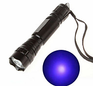 LED Flashlights / Torch Black Light Flashlights/Torch Handheld Flashlights/Torch LED 130 lm 1 Mode - Rechargeable Ultraviolet Light for