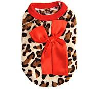 Коты Собаки Толстовка Жилет Одежда для собак Зима Весна/осень Матовый черный Мода На каждый день Розовый Красный