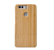 cheap -CORNMI For Huawei P9 Plus P9 Wood Bamboo Cover Case Cell Phone Wooden Houising Shell Protection