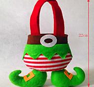 Недорогие -рождественские украшения эльфы мешок