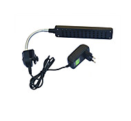 baratos -1pç lm Iluminação novidade LED Aquário Luzes 48 leds LED de Alta Potência Decorativa 100-240V