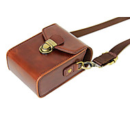 Dengpin PU Leather Camera Case Bag Cover for Casio ZR3600 ZR3500 ZR2000 ZR1500 ZR1700 ZR55(Assorted Colors)