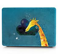 Недорогие -MacBook Кейс / Сумки для портативных компьютеров Животное пластик для MacBook Air, 13 дюймов / MacBook Pro, 13 дюймов / MacBook Air, 11