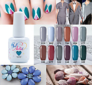 USA ONLY Gel Polish Gray Color Gel Nail Polish UV&LED Lamp Gel Salon Gel