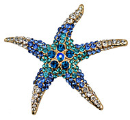 cheap -Women's Brooches - Fashion White / Red / Blue Brooch For Party / Daily / Casual