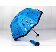 Black Gel Sunshade Sun Umbrella Creative Uv Protection Umbrella